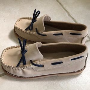 Other - Kids loafers cream color size 13
